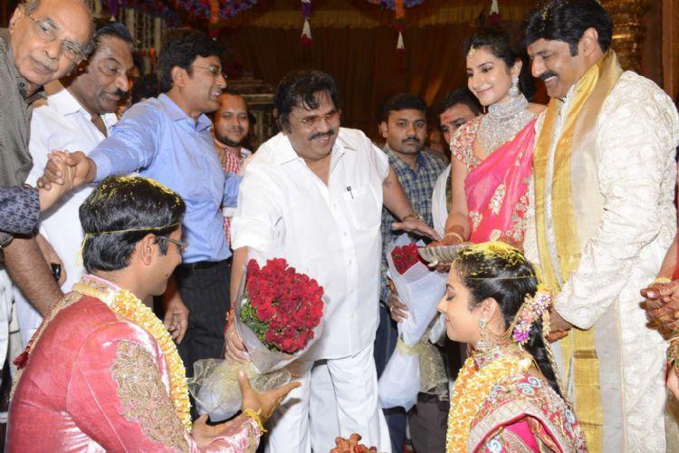 NBK's daughter Tejaswini's wedding: at TeluguPeople com Photo Gallery
