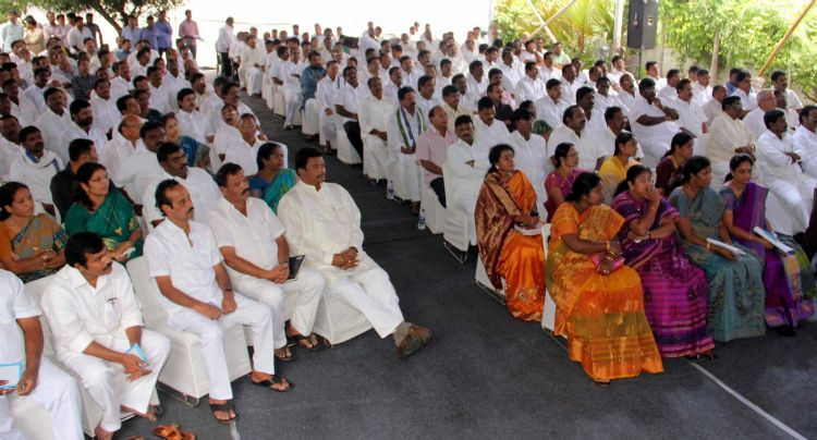 YSRCP Wide Ranging Meeting of the Party : at TeluguPeople