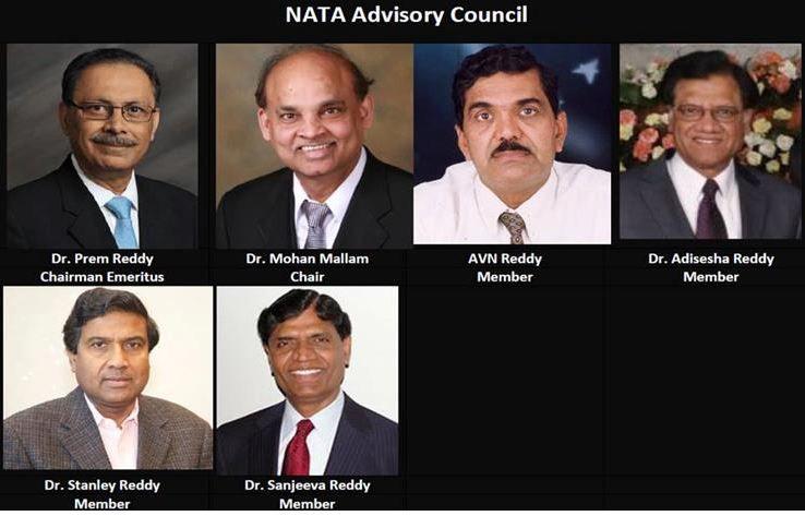 NATA Executive Committee for 2019-20 - TeluguPeople com News