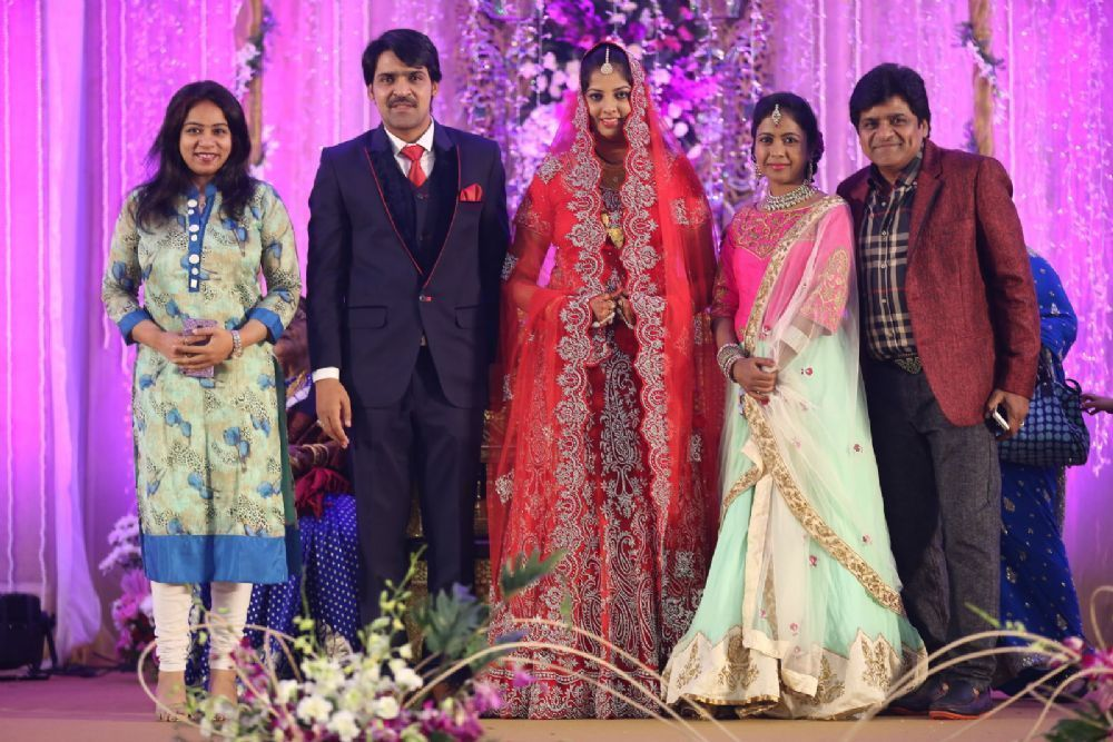 Ali's brother Khayyum wedding reception: at TeluguPeople com Photo